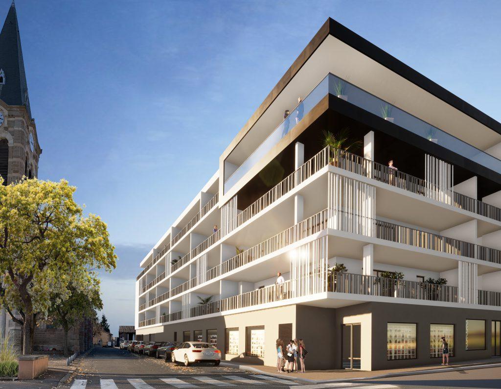 Programme immobilier neuf à La Talaudière   Résidence le PHAR'AARON