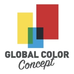 logo global color concept